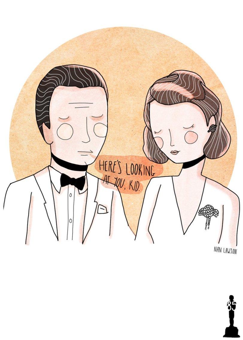Oscars Valentine - Casablanca
